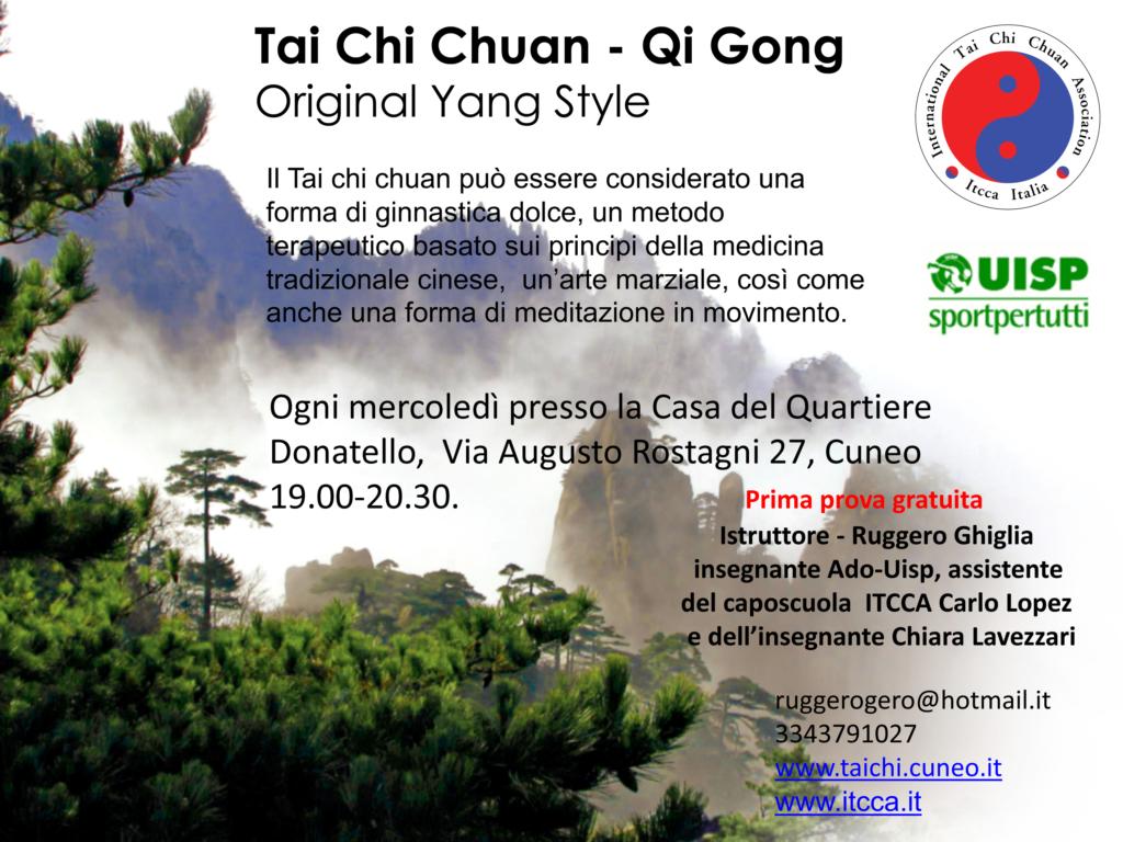 Tai Chi Chuan - Qi Gong Original Yang Style